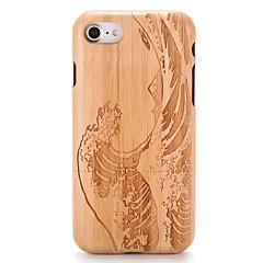 Για Θήκες Καλύμματα Ανάγλυφη Με σχέδια Πίσω Κάλυμμα tok Νερά ξύλου Κινούμενα σχέδια Σκληρή Ξύλο για AppleiPhone 7 Plus iPhone 7 iPhone 6s