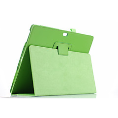 Til cover med stativ flip i hele kropsfarvet solidfarvet blødt pu læder til microsoft overflade3 10,8 ''