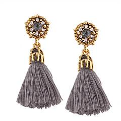 Mulheres Brincos Compridos Jóias Moda Estilo Boêmio Personalizado Euramerican bijuterias Liga Jóias Para Casamento Festa/Eventos Dia a