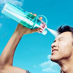 Sport & Outdoor Na wolnym powietrzu Sport i rekreacja Wyjściowe Codzienne Iść Szklanki, 600 Plastik Słomkowy Sok WodaZwykłe akcesoria do