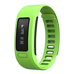 Smart armbånd Vandafvisende Lang Standby Brændte kalorier Skridttællere Træningslog Distance Måling Beskedkontrol Kamerakontrol