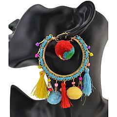 Dames Druppel oorbellen Basisontwerp Uniek ontwerp Meetkundig Vriendschap Movie Jewelry Luxe Sieraden Opvallende sieraden Duurzaam USA