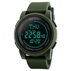 SKMEI Herre Sportsur Militærur Modeur Casual Ur Digital Watch Armbåndsur Unik Creative Watch Japansk Digital LED Kompas Kalender