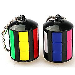 Rubik kocka Sima Speed Cube Stresszoldó Rubik-kocka Kulcstartó Műanyagok