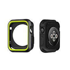 Til Apple Watch taske 38 / 42mm ridsefast fleksibel taske slank let beskyttende kofanger cover til æble ur serie 1/2