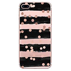 Για iPhone X iPhone 8 Θήκες Καλύμματα Διαφανής Με σχέδια Πίσω Κάλυμμα tok Γραμμές / Κύματα Μαλακή TPU για Apple iPhone X iPhone 8 Plus