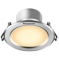 1pcs 5w led downlight celing light warm wit ac220v grootte gat 90mm 300lm 4000k