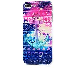 voor case cover ultra dun patroon achterkant behuizing anker soft tpu voor apple iphone x iphone 8 plus iphone 8 iphone 7 plus iphone 7