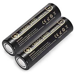 liitokala lii - 34a 18650 li-ion akkumulátor 2db