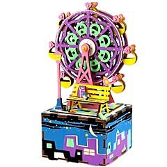 Kendin-Yap Seti Müzik Kutusu Oyuncaklar Ünlü Binası Kendin-Yap Çocuk Unisex Parçalar