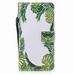 Na iPhone 7 iPhone 7 Plus Etui Pokrowce Portfel Etui na karty Flip Wzór Magnetyczne Futerał Kılıf Drzewo Twarde Sztuczna skóra na Apple