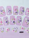 3 Unha Arte Decoração strass pérolas maquiagem Cosméticos Designs para Manicure