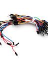 electronique bricolage sans soudure fils souples planche a pain cavaliers cable 65pcs
