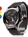 Unisex  Rubber Analog Quartz Wrist Watch (Assorted Colors)