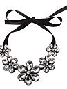 Jewelry Choker Necklaces Party Alloy / Gem Women Black Wedding Gifts