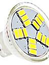 1.5W GU4(MR11) LED Spotlight MR11 15 SMD 5630 120-150 lm Natural White AC 12 V
