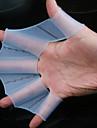 Taille Large 100% Piscine de Silicon Pratiquer gants palmés (2 pcs, Ramdon couleur)