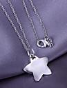 pingente de estrela de prata (pendente apenas)