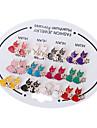 corée du chat Boucles d'oreilles oreille de style (couleur aléatoire)
