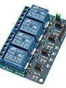 광 커플러가있는 4 채널 릴레이 모듈 arduino 용 pic avr dsp arm 용 5v
