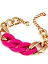 Chaîne de verrouillage Mode Twisted & Link Bracelet (couleur aléatoire)