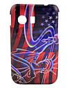 US Flag Statue de la Liberté Hard Case Motif pour Samsung GALAXY Y S5360