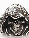 Anéis Grossos bijuterias Aço Titânio Caveira Jóias Para Diário Presentes de Natal