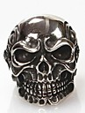 문자 반지 의상 보석 티타늄 스틸 Skull shape 보석류 제품 일상 크리스마스 선물