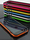 Dual Color Frame TPU+Silicone Soft Bumper for iPhone 6 (Assorted Color)