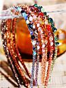 multicolores de la mode cristal irregulier decoration bandeaux (1 pc) (plus de couleurs)