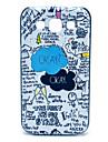 Pour Samsung Galaxy Coque Motif Coque Coque Arrière Coque Mot / Phrase Polycarbonate Samsung Win