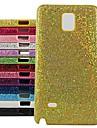 Для Samsung Galaxy Note Other Кейс для Задняя крышка Кейс для Сияние и блеск PC Samsung Note 4