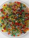 600PCS Multicolor Crafts Pony Beads 2mm Handmade DIY Craft Material/Clothing Accessories