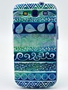 Для Кейс для  Samsung Galaxy С узором Кейс для Задняя крышка Кейс для Геометрический рисунок TPU Samsung S3