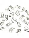 creativo pequeno papel animales clip de forma 20 piezas