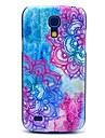 Beautiful Tattoo Mandala Flower Pattern Hard Case Cover for Samsung Galaxy S4 mini I9190