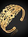 Femme Manchettes Bracelets Bracelet Mode bijoux de fantaisie Platine Plaque or Alliage Bijoux Pour Mariage Soiree Occasion speciale