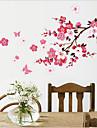 Chinese Style Plum Blossom PVC Wall Sticker