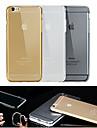 Pour Coque iPhone 6 / Coques iPhone 6 Plus Transparente Coque Coque Arriere Coque Couleur Pleine Flexible TPUiPhone 6s Plus/6 Plus /