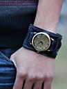 Men's Vintage Leather Strap Watch Cool Watch Unique Watch