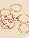 여성 미디 반지 패션 개인 코스츔 모조 다이아몬드 합금 보석류 제품 일상 캐쥬얼