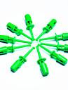 DIY наконечник электронного щуп - зеленый (10 шт Pack)