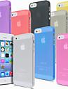 caso da tampa de luz ultra fino para iPhone 5 / 5s