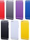 전신 측면 + 상단 + 아이폰 6 백 + 버튼 퓨어 컬러 스킨 스티커 플러스 (모듬 색상)