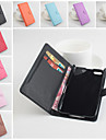 For BlackBerry Case Card Holder / Wallet / with Stand / Flip / Magnetic Case Full Body Case Solid Color Hard PU Leather for BlackBerry