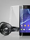 Pour Coque Sony / Xperia Z3 Ultrafine / Transparente Coque Coque Arriere Coque Couleur Pleine Flexible TPU pour SonySony Xperia Z3 / Sony