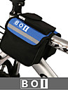 BOI® Bike Bag 1.9LBike Handlebar Bag Waterproof / Waterproof Zipper / Shockproof / Wearable Bicycle Bag 600D Ripstop / Cloth Cycle Bag