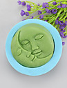 Lovers Kiss Shaped Soap Molds Mooncake Mould Fondant Cake Chocolate Silicone Mold, Decoration Tools Bakeware