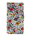 For Apple iPhone 7 7 Plus iPhone 6s 6 Plus iPhone SE 5s 5c 5 Case Cover The Flowers Pattern PU Leather Cases