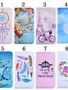 Pour Coque LG Etuis coque Porte Carte Portefeuille Avec Support Clapet Coque Integrale Coque Bande dessinee Dur Cuir PU pour LG LG G4 LG